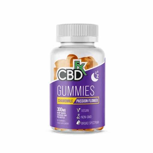 CBDfx Chamomile Passion Flower Gummies
