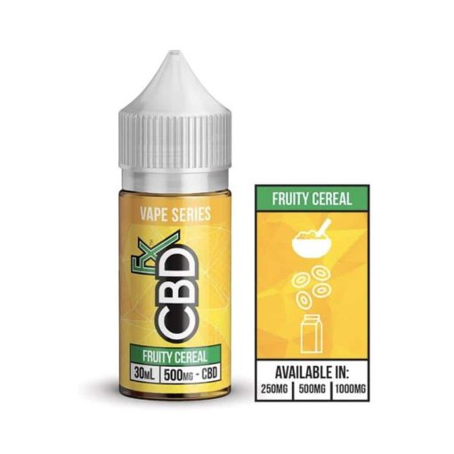 Fruity Cereal by CBDfx Vape Series