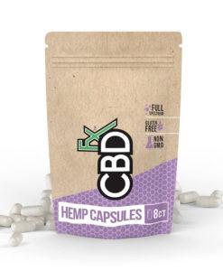 CBDfx Hemp Capsules 8 Pack