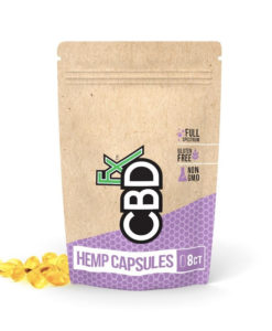 CBDfx Hemp Gel Capsules 8 Pieces