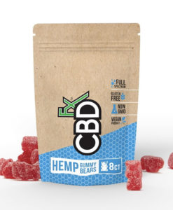 CBDfx Hemp Gummies 8 Pack