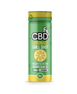 CBDfx Lemonade Chill Shot 200mg