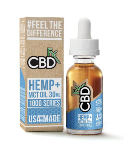 CBDfx - 30ml MCT Tincture Oil 1000mg