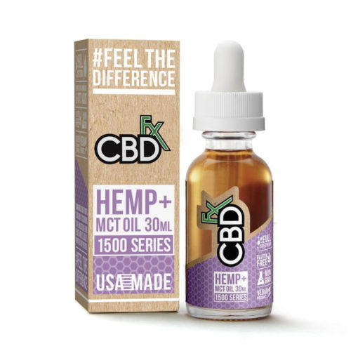 CBDfx - 30ml MCT Tincture Oil 1500mg