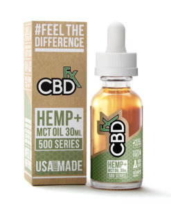 CBDfx - 30ml MCT Tincture Oil 500mg