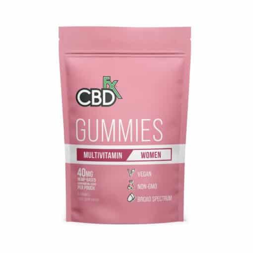 CBDFX - Women's Multivitamin CBD Gummies Trial Pack
