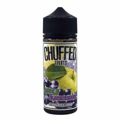 Chuffed - Apple & Blackcurrant 100ml 0mg Eliquid Short Fill