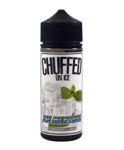 Chuffed - Ice Menthol 100ml 0mg Eliquid Short Fill