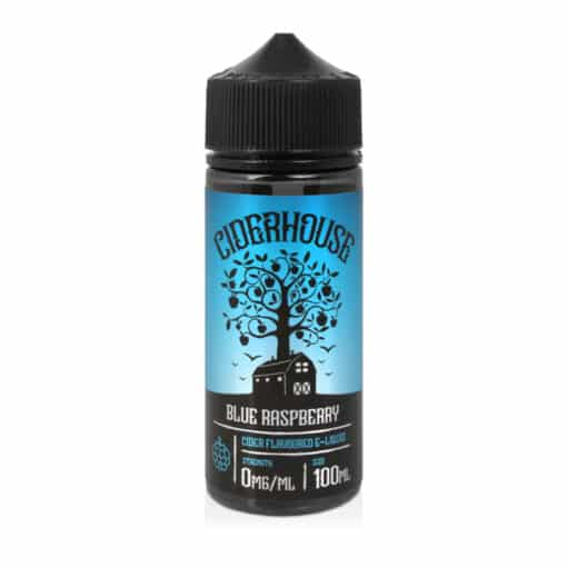 Ciderhouse - Blue Raspberry Cider 100ml Short Fill Eliquid