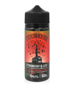 Ciderhouse - Strawberry & Lime Cider 100ml Short Fill Eliquid