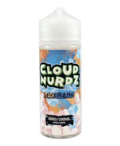 Peach Blue Razz on Ice by Cloud Nurdz