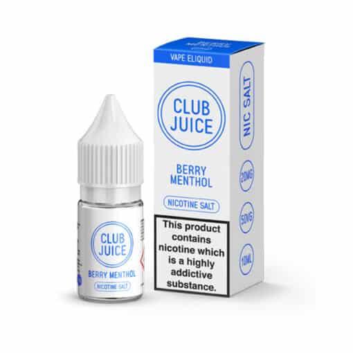 Club Juice - Berry Menthol 20mg Nic Salt