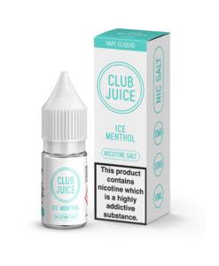 Club Juice - Ice Menthol Nic Salt
