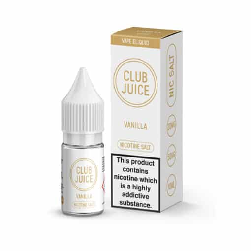 Club Juice - Vanilla Nic Salt