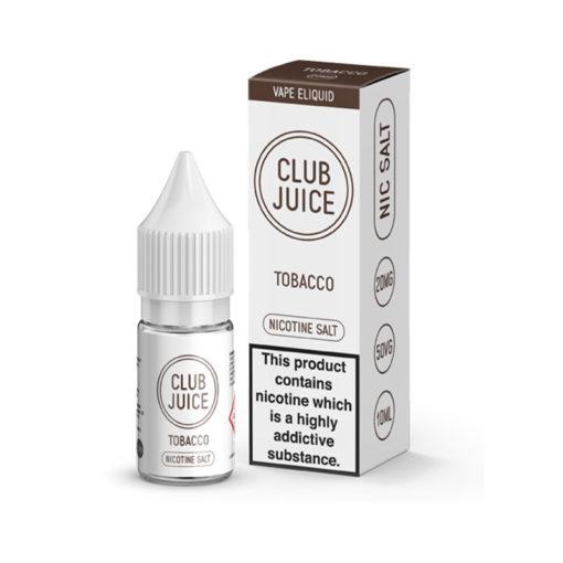 Club Juice - Tobacco Nic Salt