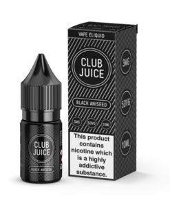 Club Juice Vape Black Aniseed
