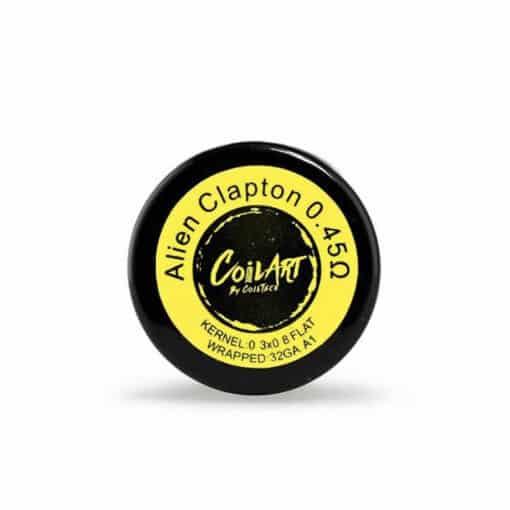 CoilArt Pre-made Alien Clapton Coils 0.4 ohm
