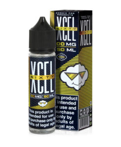Cosmic Fog - XCEL SIXTY - Lemon Crumble 50ml Short Fill