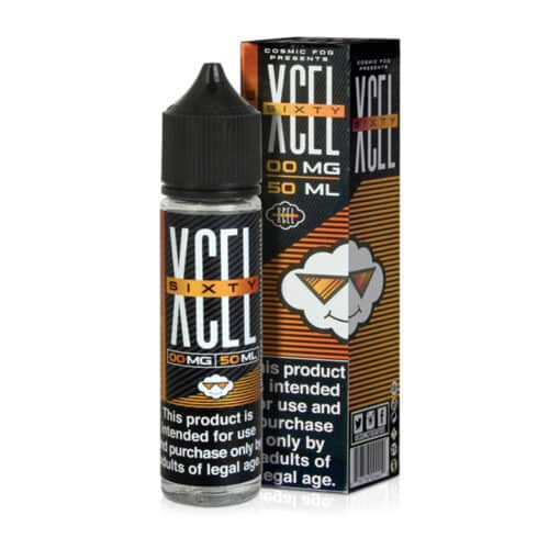 Cosmic Fog - XCEL SIXTY - Mango Smoothie 50ml Short Fill