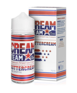 Cream Team - Buttercream 100ml Short Fill
