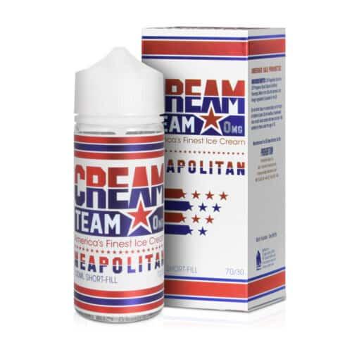 Cream Team - Cream Team - Cream Team - Neapolitan 100ml Short Fill
