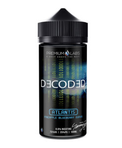 Decoded - Atlantis 100ml Short Fill
