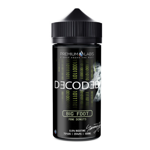 Decoded - Big Foot 100ml Short Fill