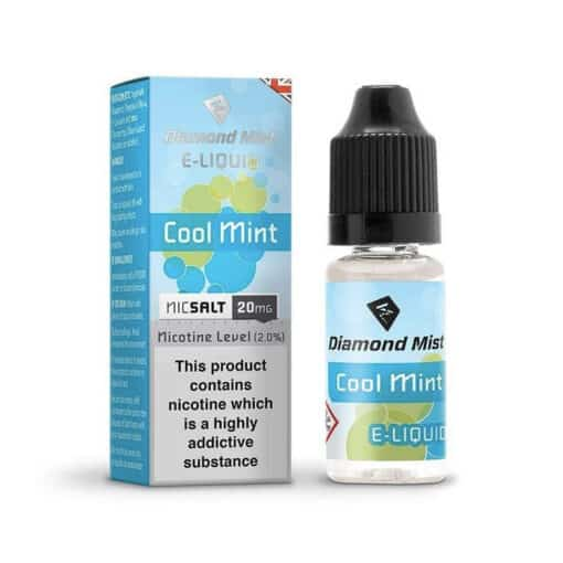 Diamond Mist Salts - Cool Mint 10ml 20mg Nic Salt