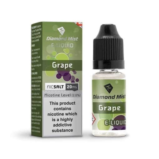 Diamond Mist Salts - Grape 10ml 20mg Nic Salt