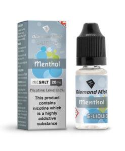 Diamond Mist Nic Salt - Menthol Mist 10ml 20mg