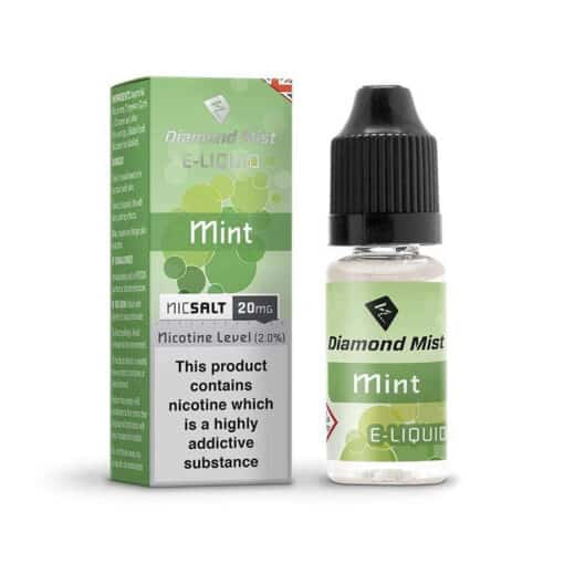 Diamond Mist Salts - Mint 10ml 20mg Nic Salt