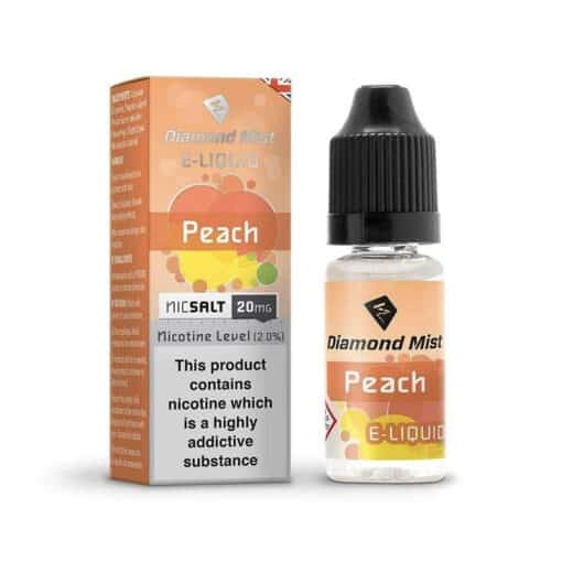 Diamond Mist Salts - Peach 10ml 20mg Nic Salt