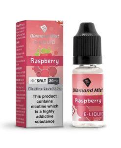 Diamond Mist Salts - Raspberry 10ml 20mg Nic Salt