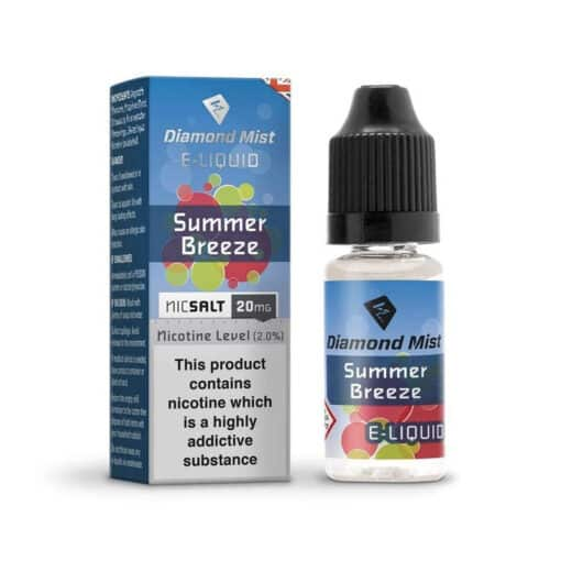 Diamond Mist Salts - Summer Breeze 10ml 20mg Nic Salt
