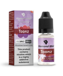 Diamond Mist Nic Salt - Toonz 10ml 20mg