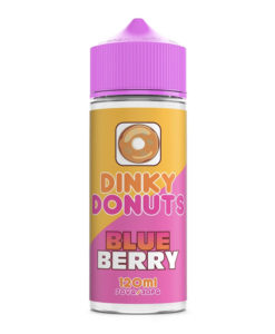 Dinky Donuts - Blueberry Donut 100ml 0mg Short Fill