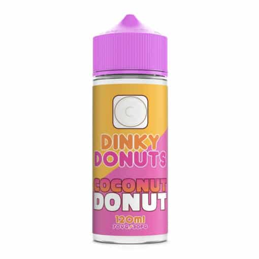 Dinky Donuts - Coconut Donut 100ml 0mg Short Fill