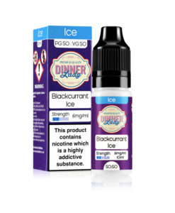Dinner Lady 50/50 - Blackcurrant Ice 10ml