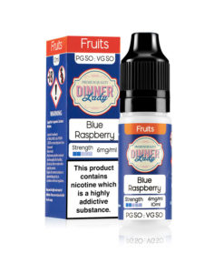 Dinner Lady 50/50 - Blue Raspberry 10ml