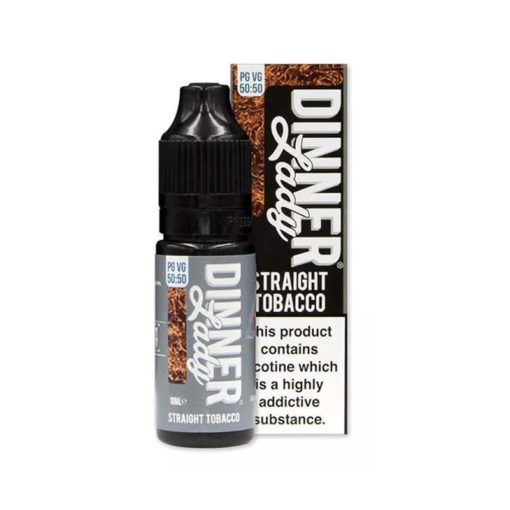 Dinner Lady 5050 - Straight Tobacco 10ml