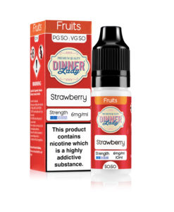 Dinner Lady 50/50 - Strawberry 10ml