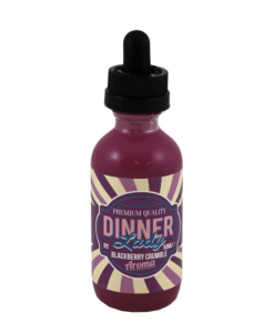 Dinner Lady - Blackberry Crumble 50ml Short Fill