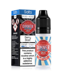 Dinner Lady Salts - Berry Blast Nicotine Salt 20mg