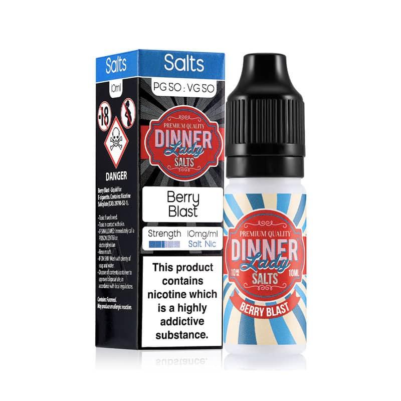 Dinner Lady Salts - Berry Blast Nicotine Salt 20mg