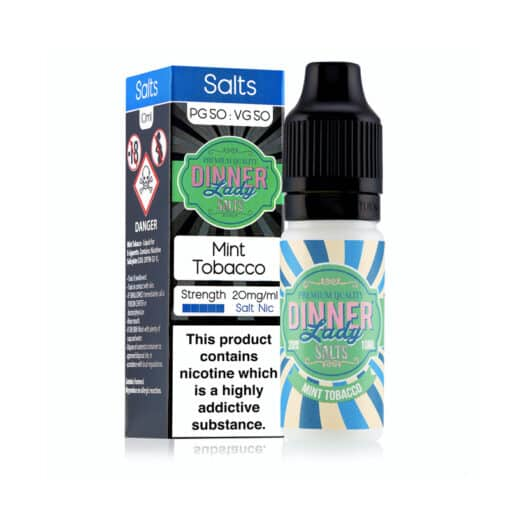 Mint Tobacco Nic Salt by Dinner Lady