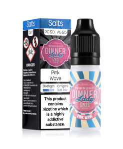 Dinner Lady Salts - Pink Wave 20mg Nicotine Salt