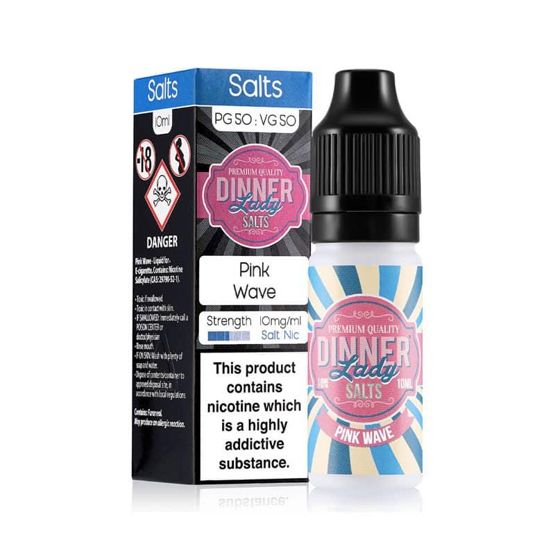 Dinner Lady Salts - Pink Wave 20mg Nicotine Salt