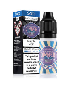 Dinner Lady Salts - Purple Rain Nicotine Salt 20mg