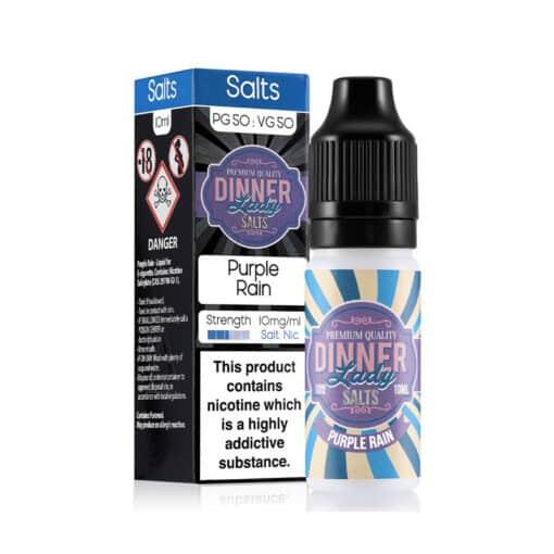 Dinner Lady Salts - Purple Rain Nicotine Salt 20mg
