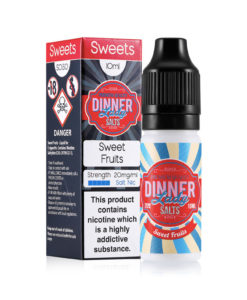 Dinner Lady Salts - Sweet Fruits 20mg